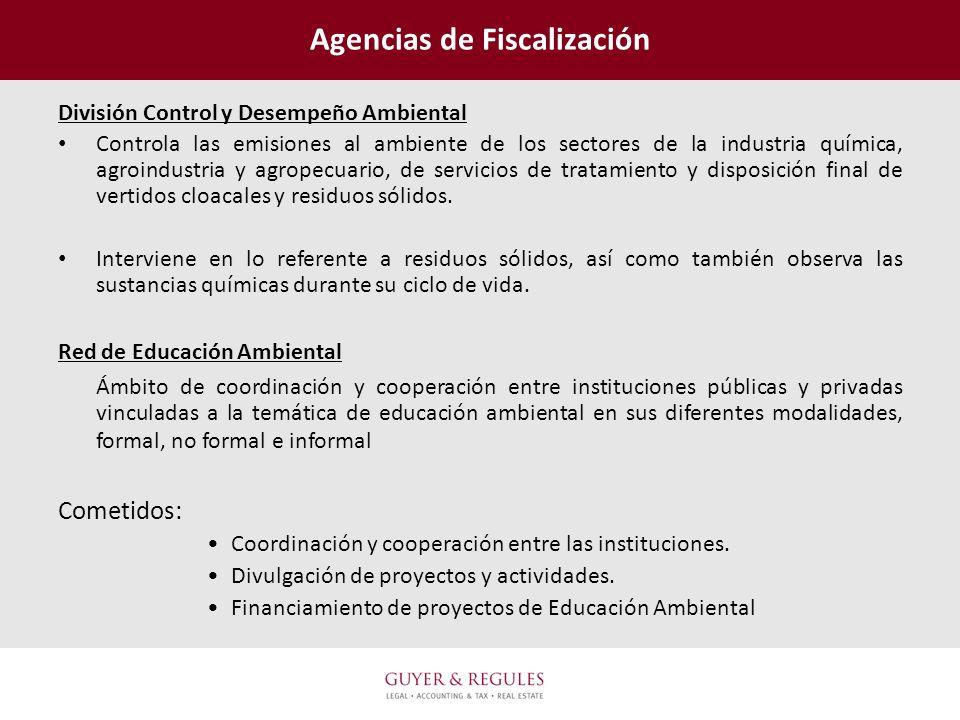 Agencias de Fiscalización