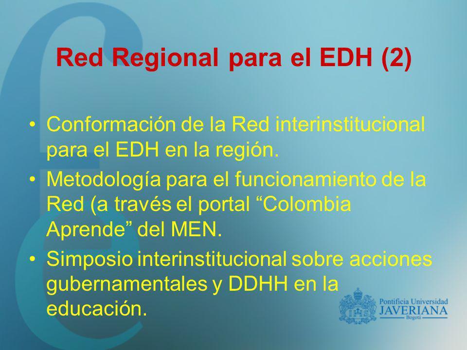 Red Regional para el EDH (2)