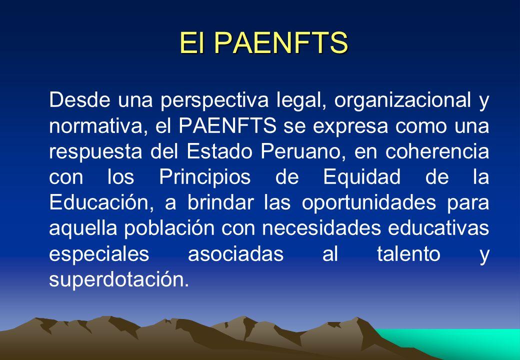 El PAENFTS