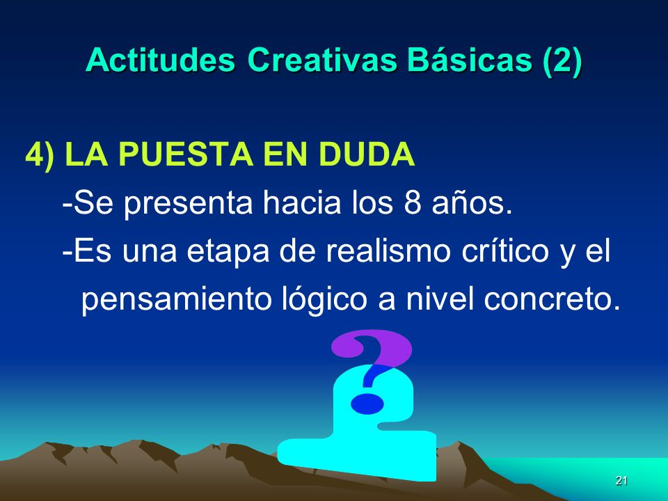 Actitudes Creativas Básicas (2)