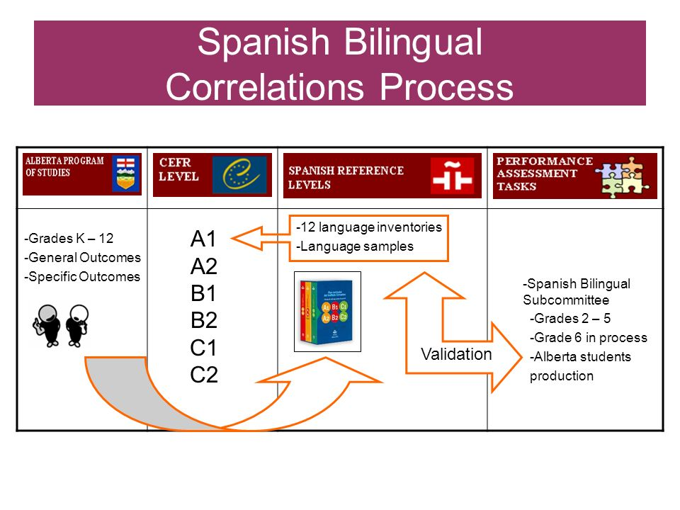 Spanish Bilingual Correlations Process