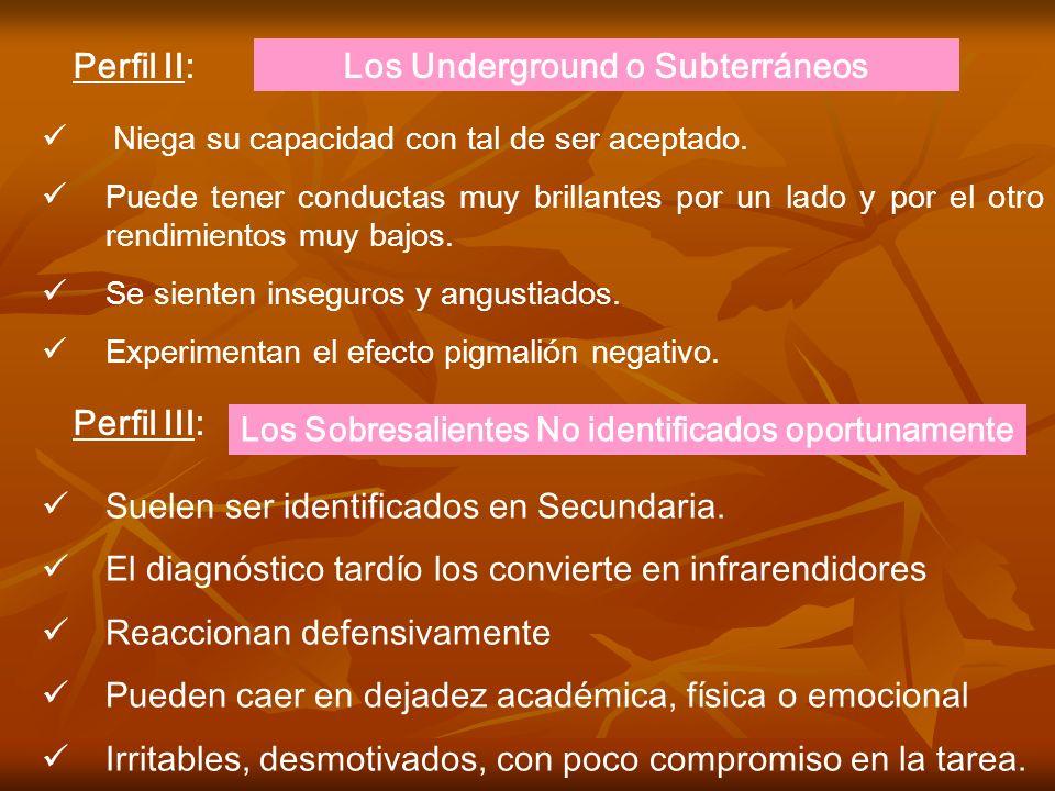 Los Underground o Subterráneos