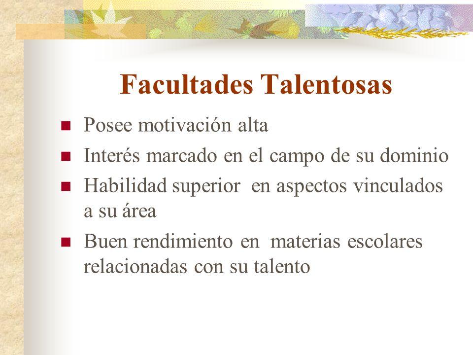 Facultades Talentosas