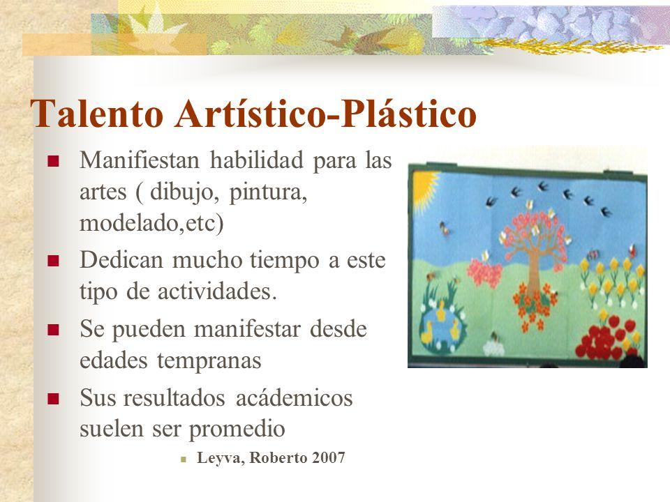 Talento Artístico-Plástico