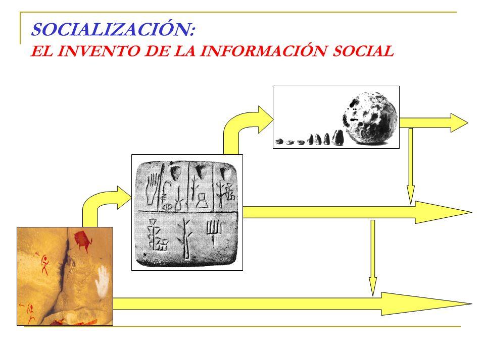 SOCIALIZACIÓN: EL INVENTO DE LA INFORMACIÓN SOCIAL