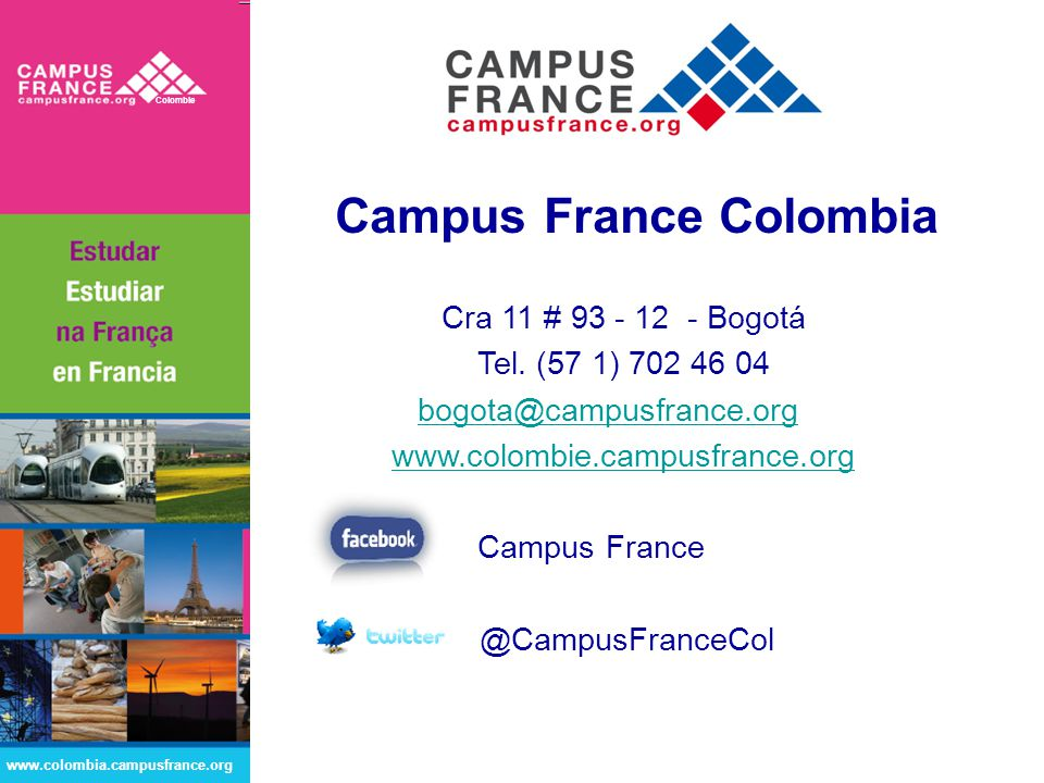 Campus France Colombia