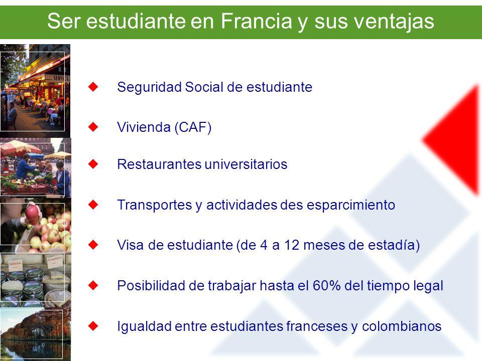 Ser estudiante en Francia y sus ventajas