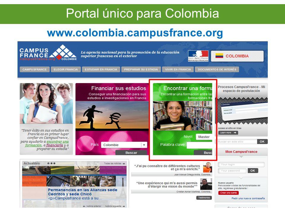 Portal único para Colombia