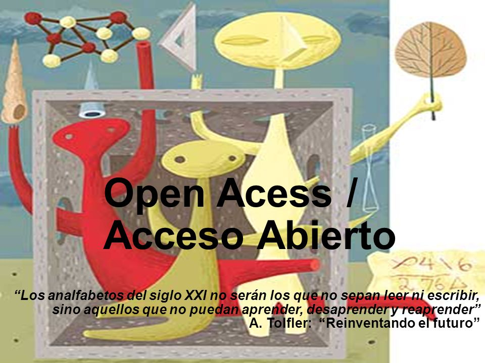 Open Acess / Acceso Abierto