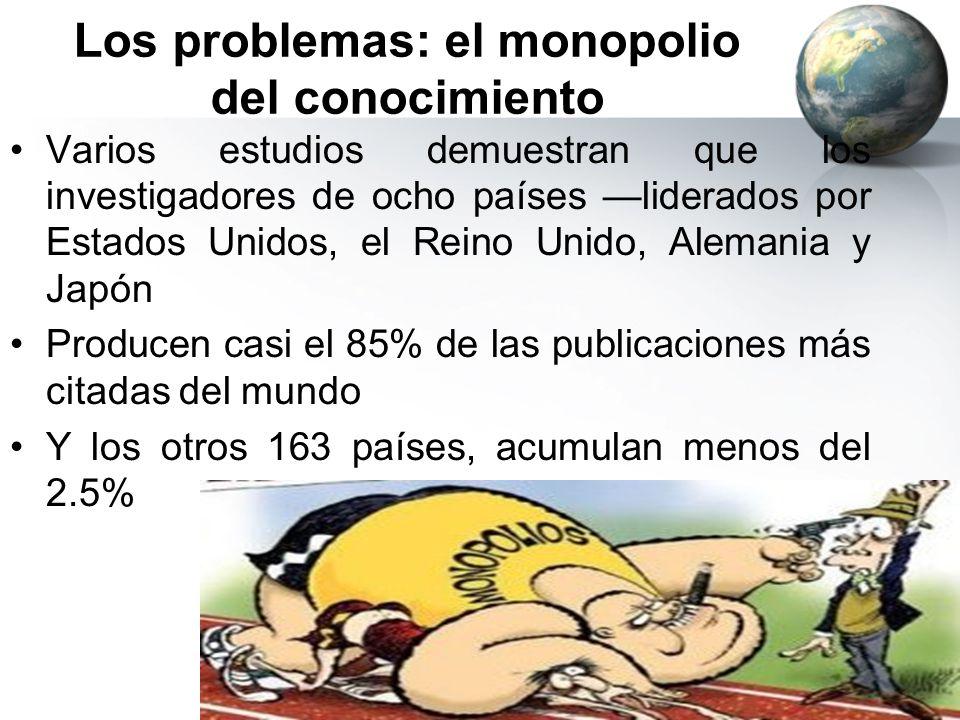 Los problemas: el monopolio del conocimiento