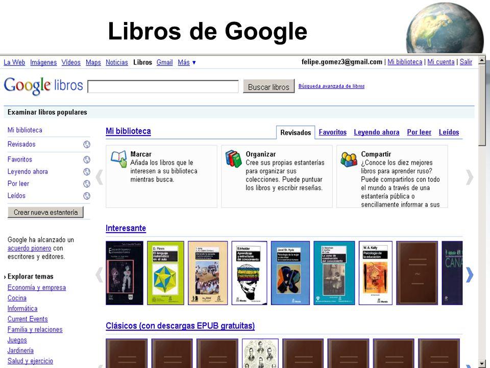 Libros de Google