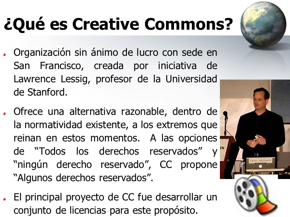 ¿Qué es Creative Commons