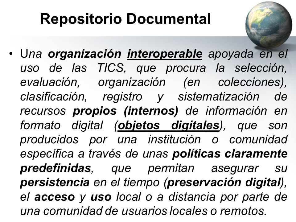 Repositorio Documental