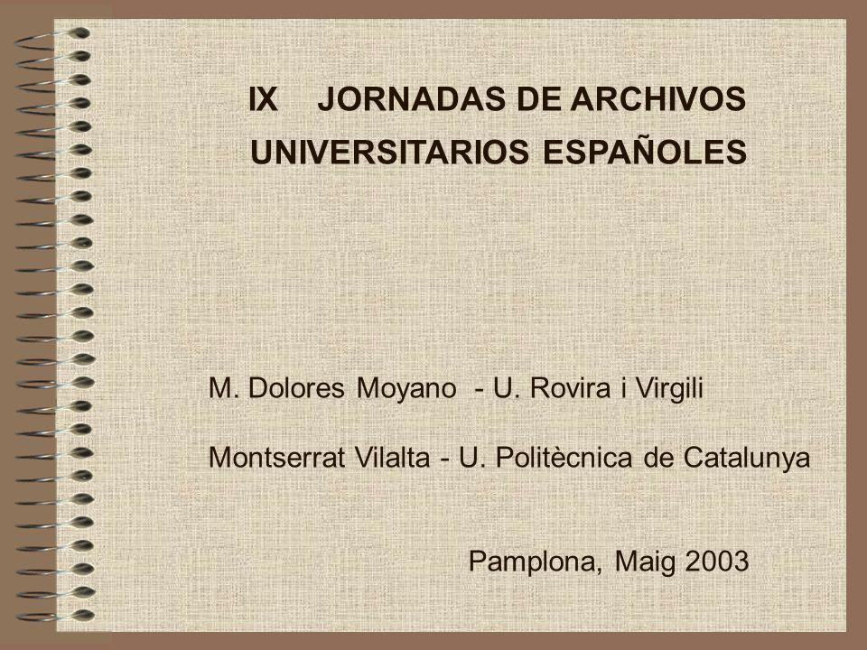 UNIVERSITARIOS ESPAÑOLES