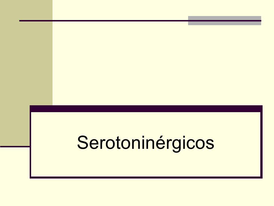 Serotoninérgicos