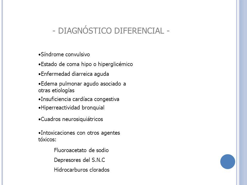 - DIAGNÓSTICO DIFERENCIAL -