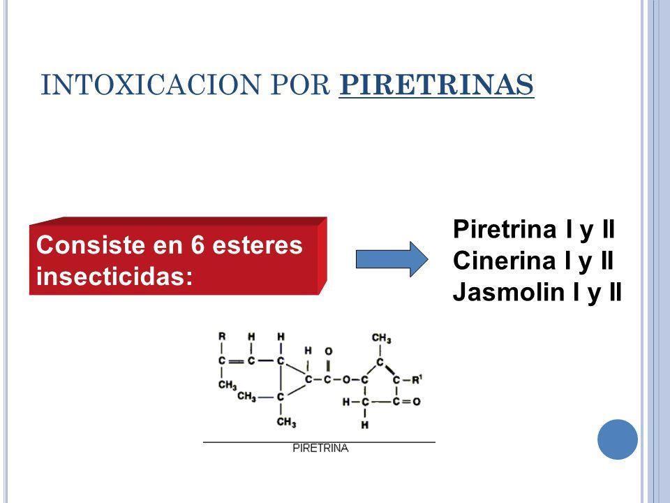 INTOXICACION POR PIRETRINAS