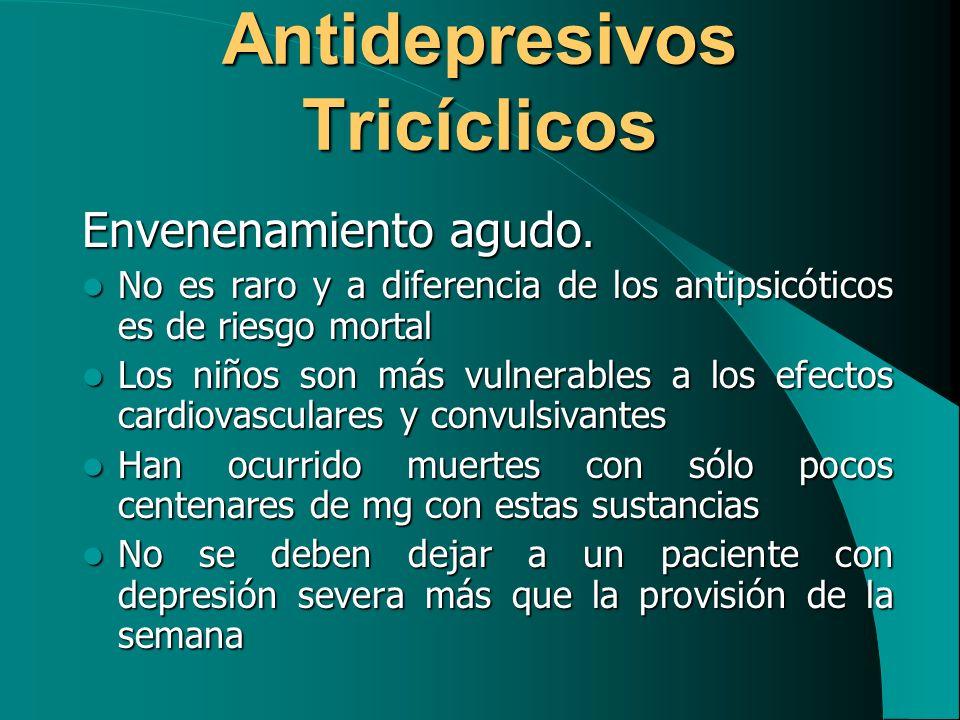Antidepresivos Tricíclicos