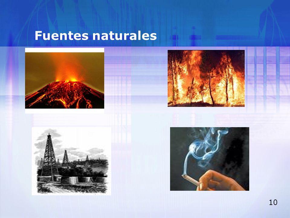 Fuentes naturales