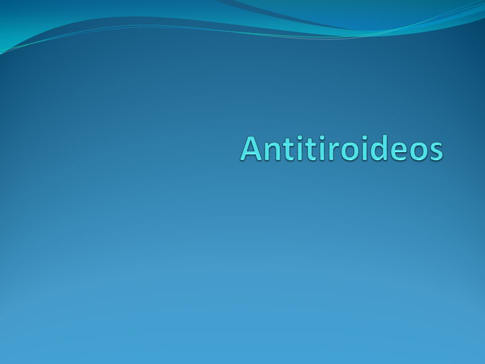 Antitiroideos
