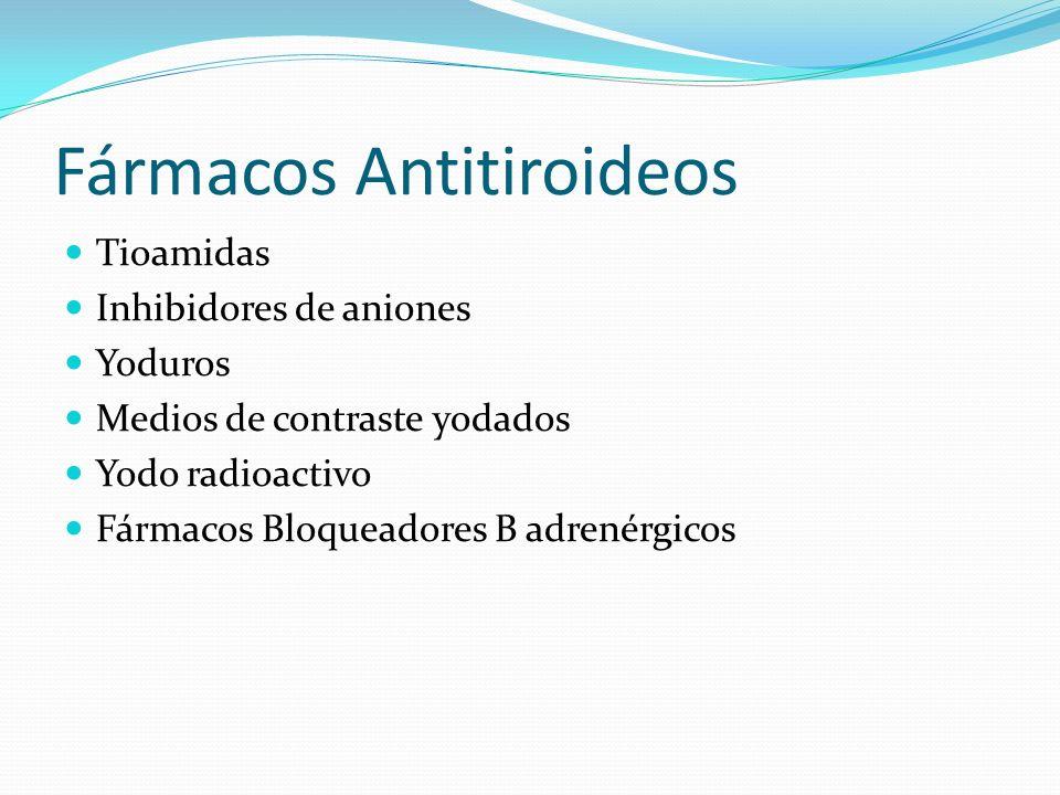 Fármacos Antitiroideos