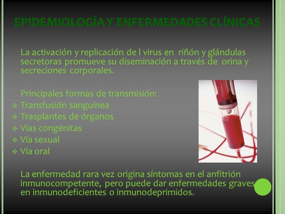 EPIDEMIOLOGÍA Y ENFERMEDADES CLÍNICAS