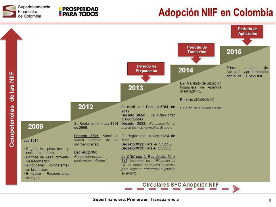 Competencias de las NIIF