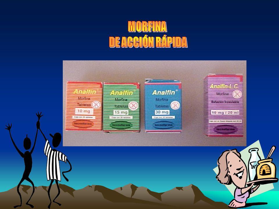 MORFINA DE ACCIÓN RÁPIDA