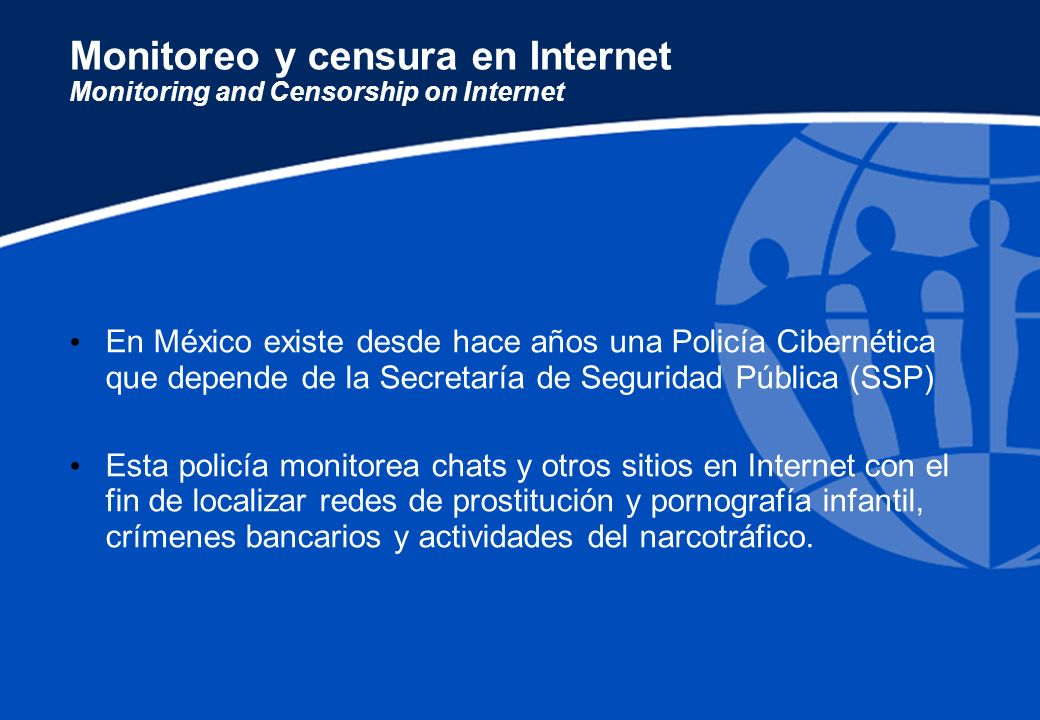 Monitoreo y censura en Internet Monitoring and Censorship on Internet