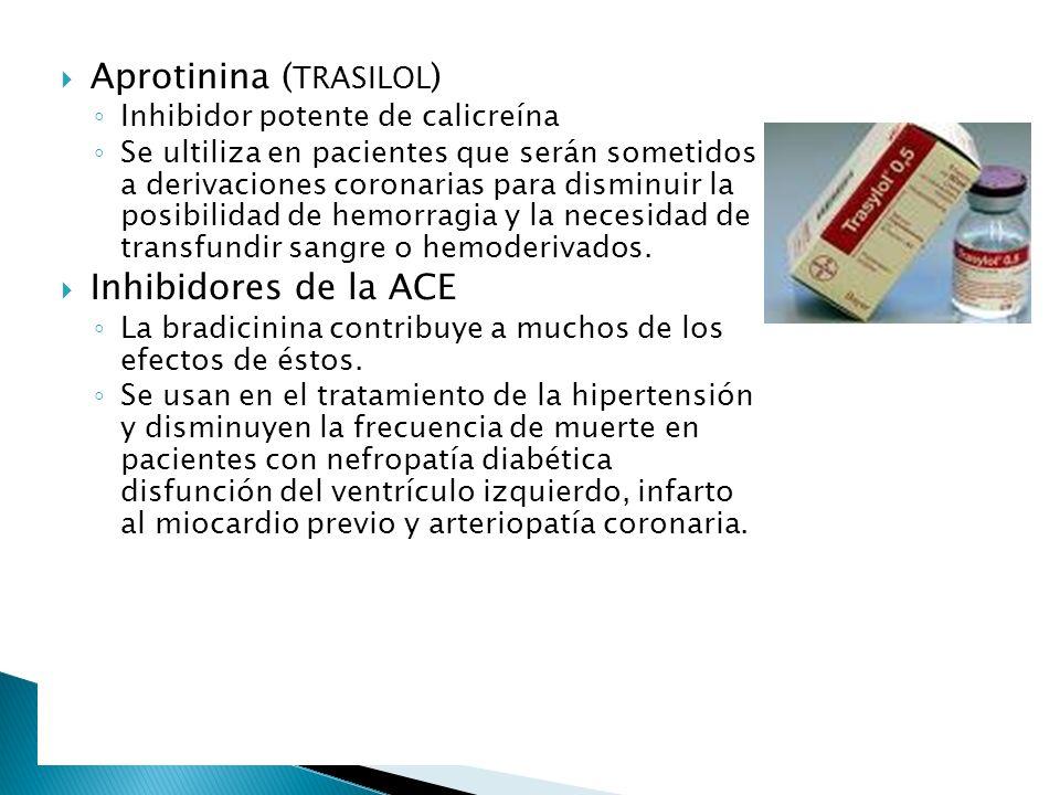 Aprotinina (TRASILOL)