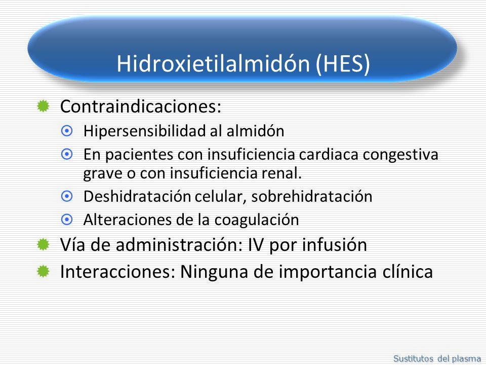 Hidroxietilalmidón (HES)
