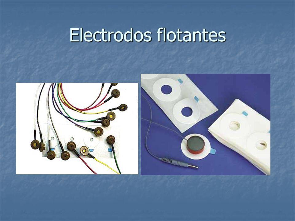 Electrodos flotantes