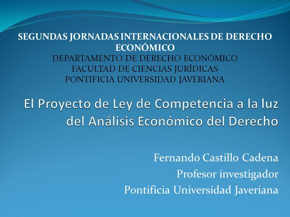SEGUNDAS JORNADAS INTERNACIONALES DE DERECHO ECONÓMICO