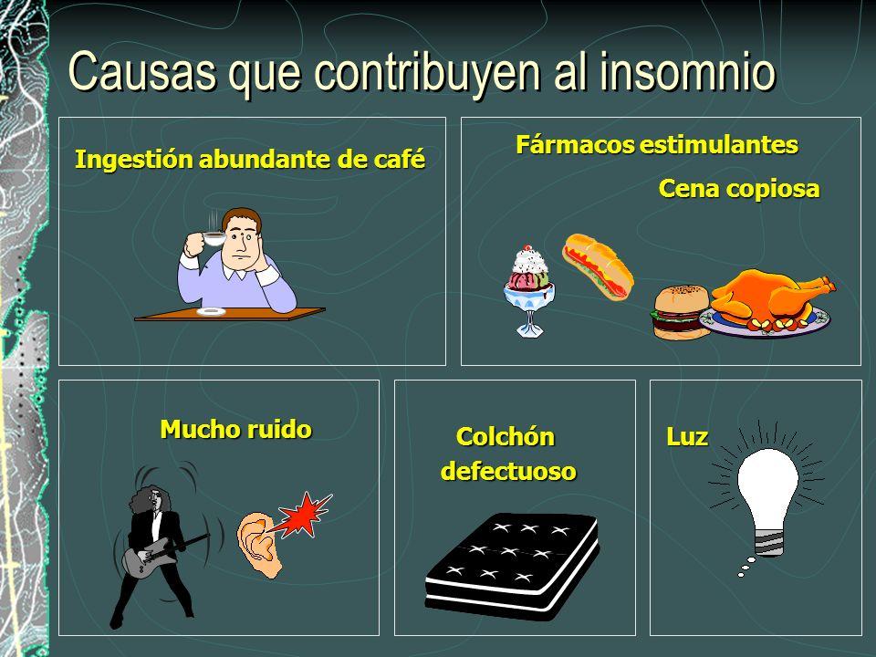 Causas que contribuyen al insomnio