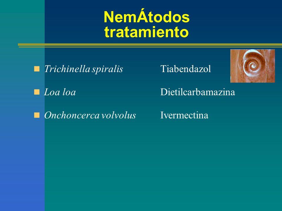 NemÁtodos tratamiento