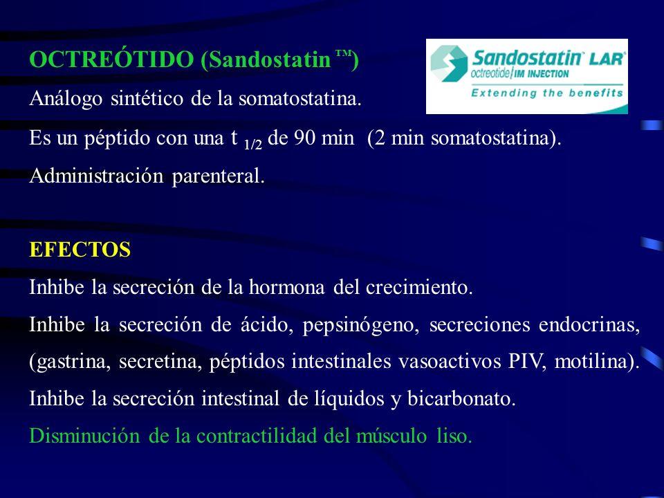 OCTREÓTIDO (Sandostatin ™)