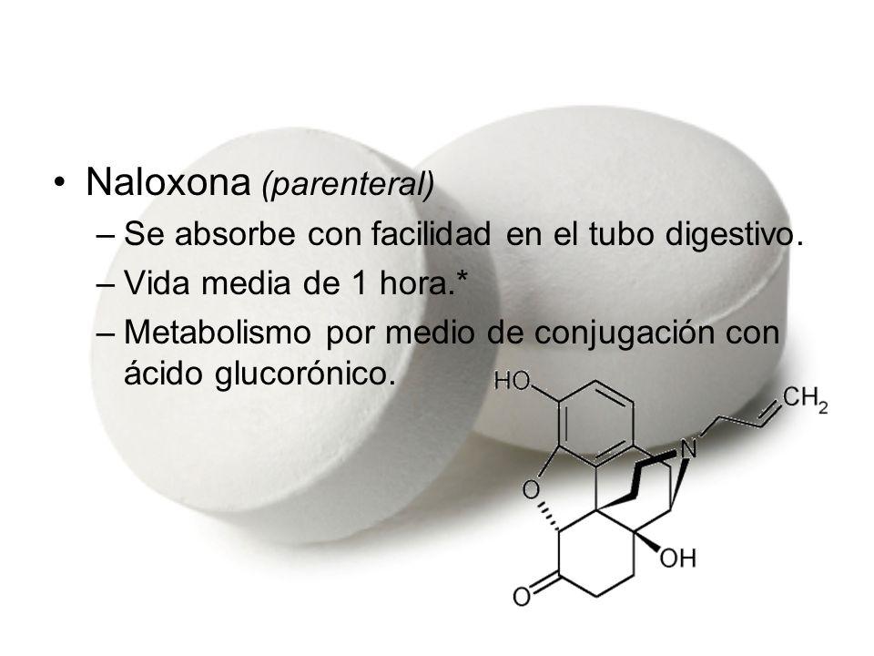 Naloxona (parenteral)