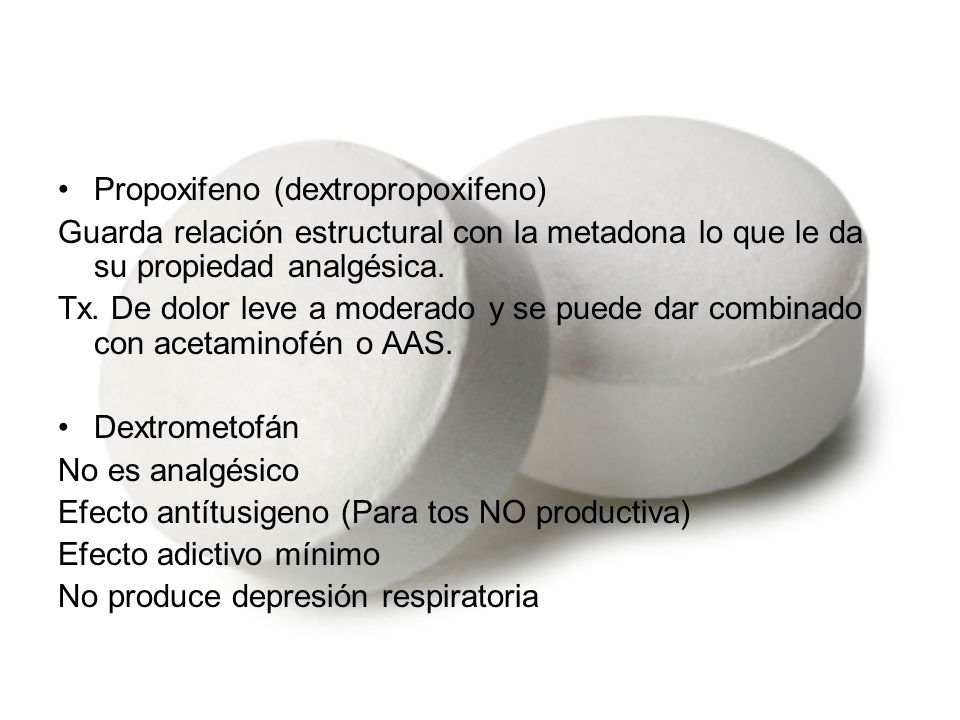 Propoxifeno (dextropropoxifeno)