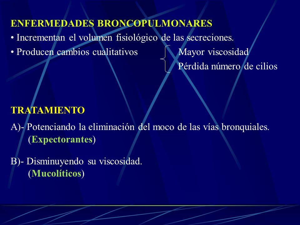 ENFERMEDADES BRONCOPULMONARES