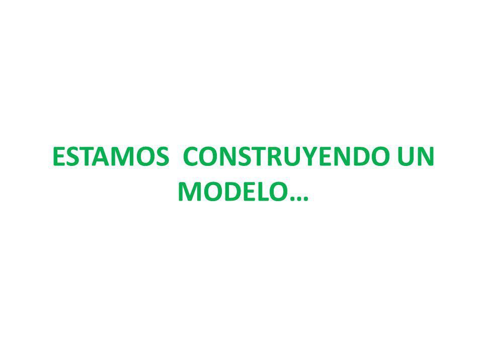 Estamos construyendo un modelo…