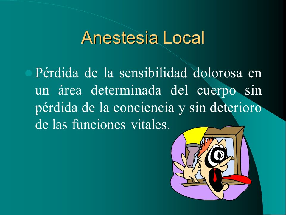 Anestesia Local