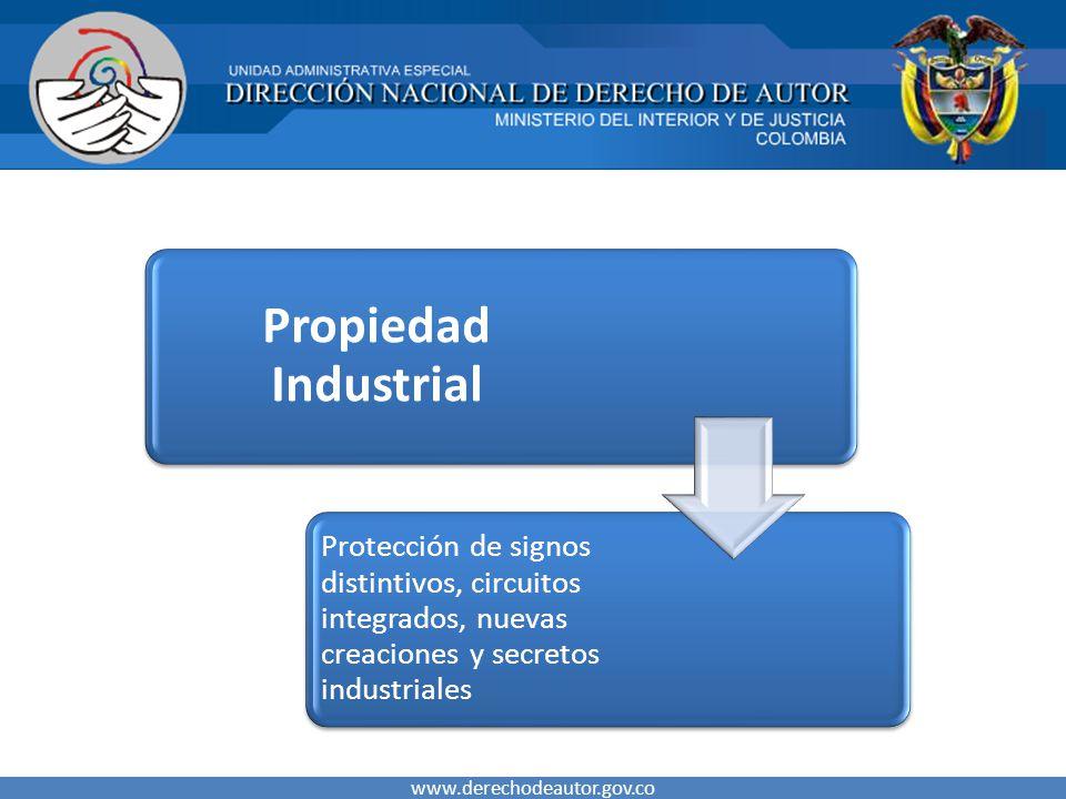 Propiedad Industrial Protección de signos distintivos, circuitos integrados, nuevas creaciones y secretos industriales.