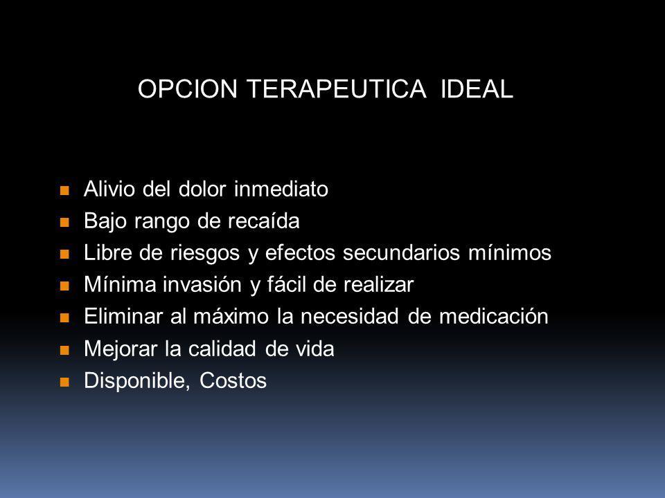 OPCION TERAPEUTICA IDEAL