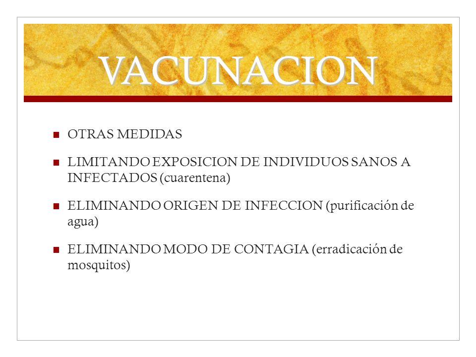 VACUNACION OTRAS MEDIDAS