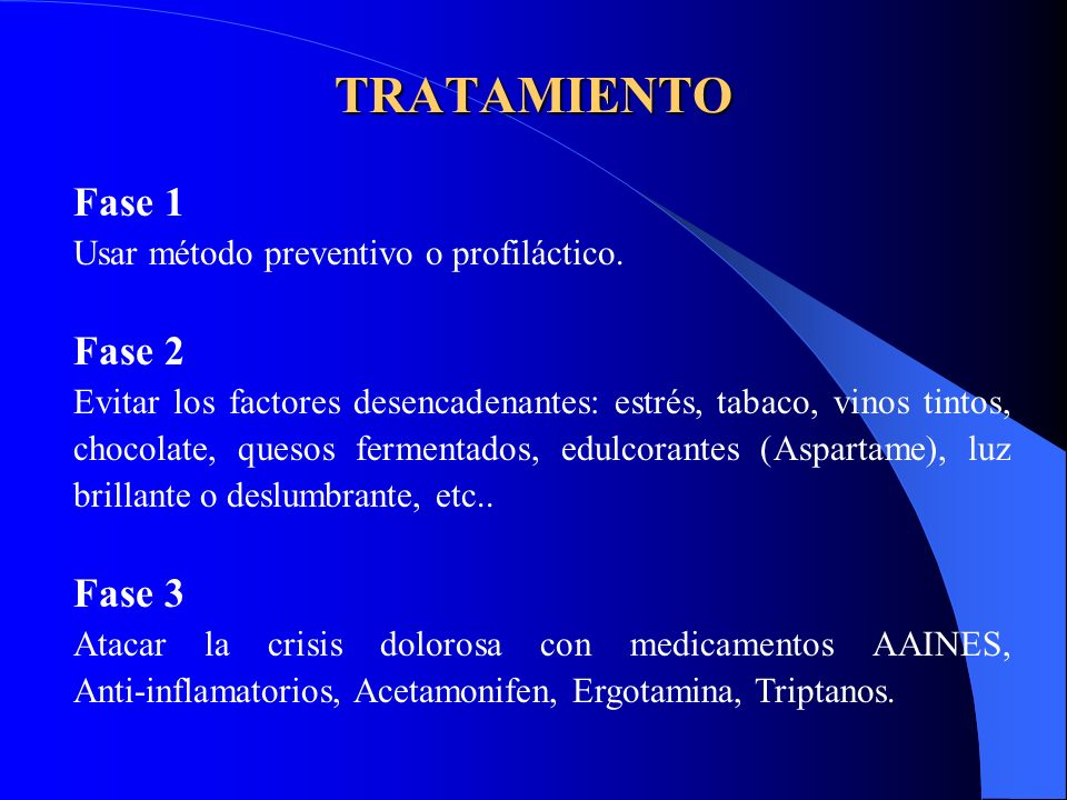 TRATAMIENTO Fase 1 Fase 2 Fase 3