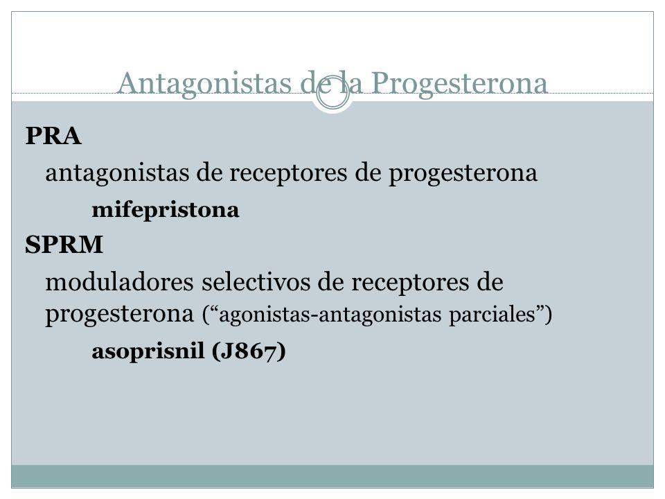 Antagonistas de la Progesterona