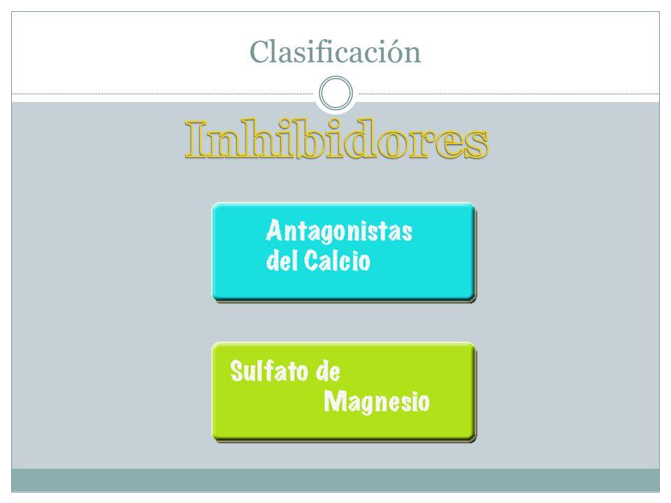 Clasificación Inhibidores