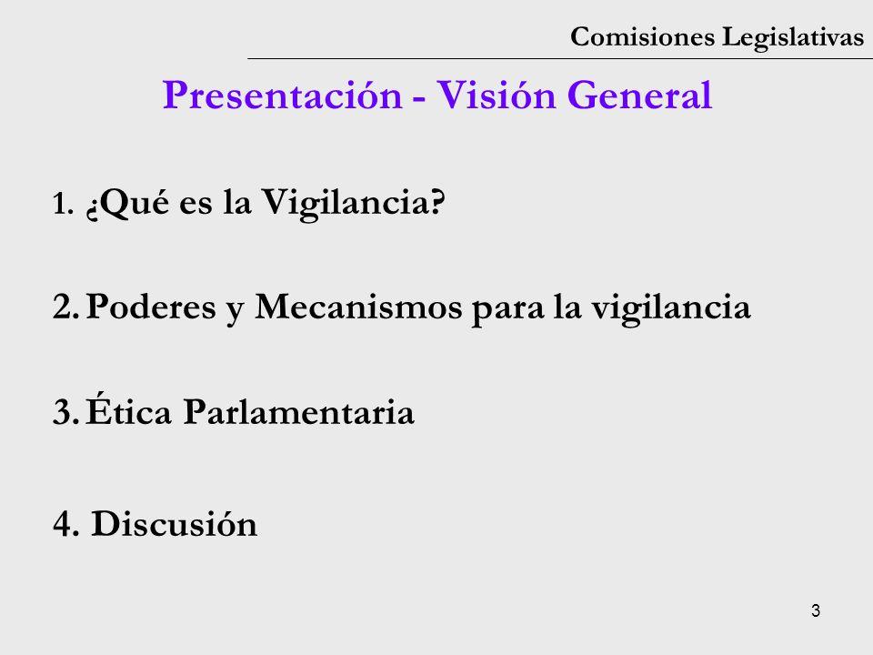 Presentación - Visión General