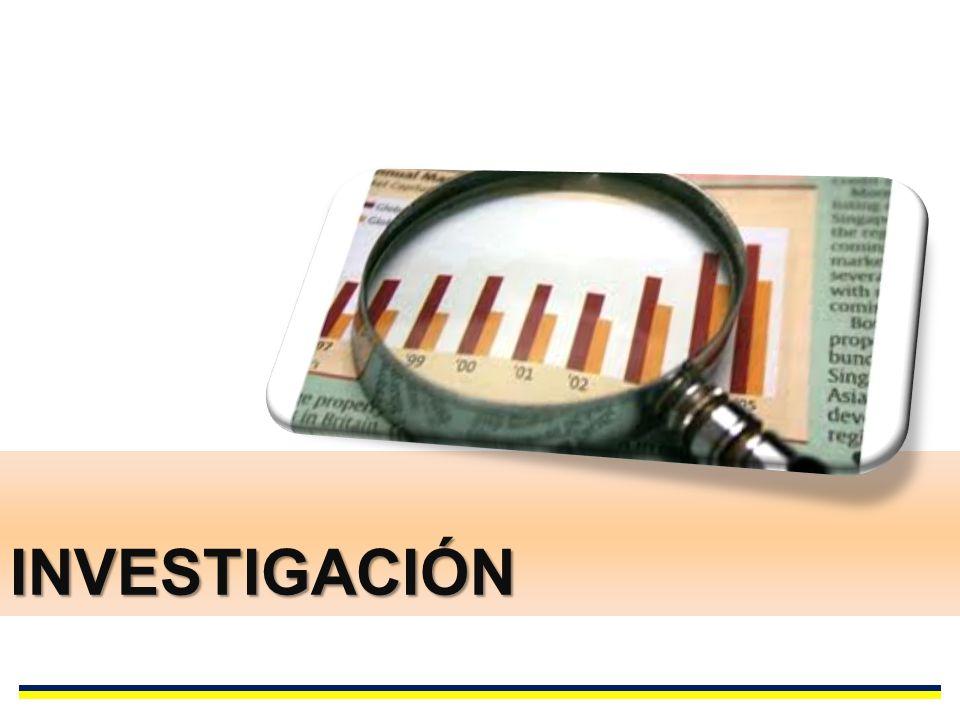 INVESTIGACIÓN LINEAS DE INVESTIGACIÓN DE LA FACULTAD