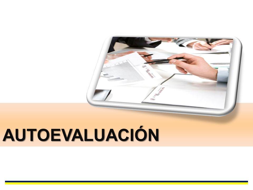AUTOEVALUACIÓN PROPOSITOS DE FORMACION PERFILES